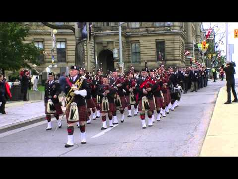 Parade of Rededication-P.P.C.L.I. 100th Anniversary-March Past Old Guard