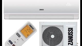 обзор кондиционера ZANUSSI ZACS HPR A15 N1 серии PARADISO