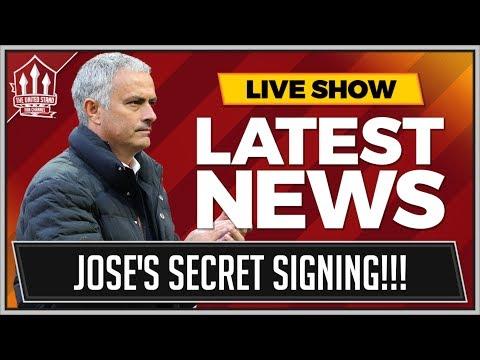 MOURINHO'S Secret Transfer Target | MAN UTD TRANSFER NEWS
