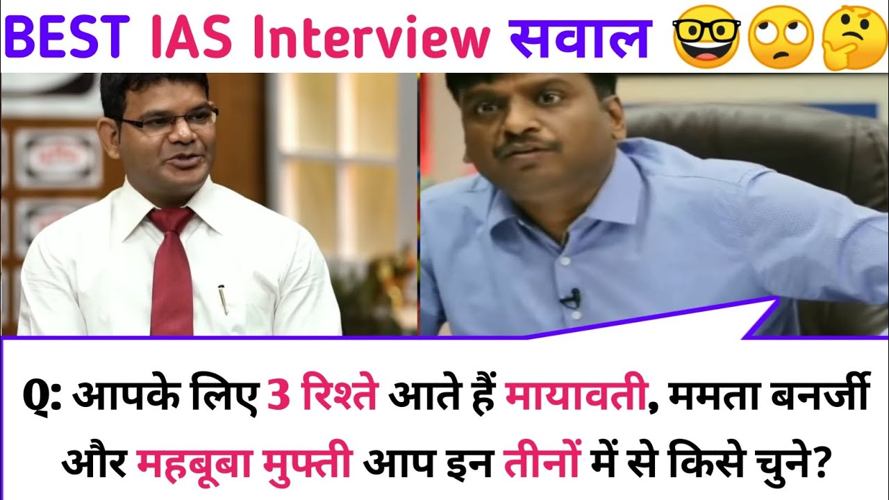 IAS Interview Questions and Answers   Of knowledge