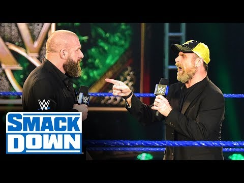 Shawn Michaels roasts Triple H with impromptu tribute: SmackDown, April 24, 2020