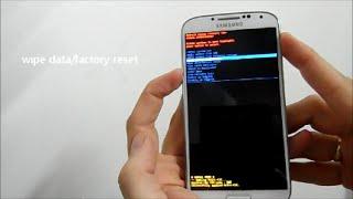 Samsung Galaxy S4 komplett zurücksetzen/Hardreset in deutsch