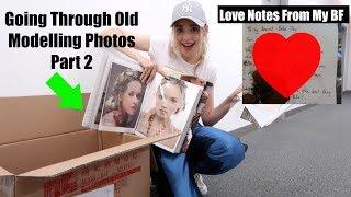 Going Through An Old Memory Box (Boyfriend Stuff, Old Photos, School ,etc)