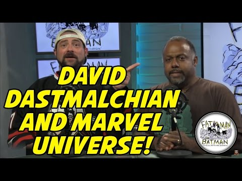 DAVID DASTMALCHIAN AND MARVEL UNIVERSE!
