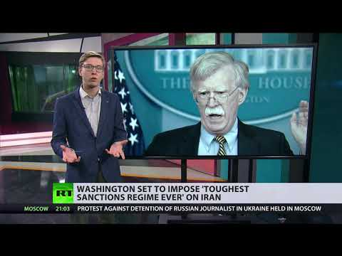 US to impose 'toughest sanctions regime ever' on Iran