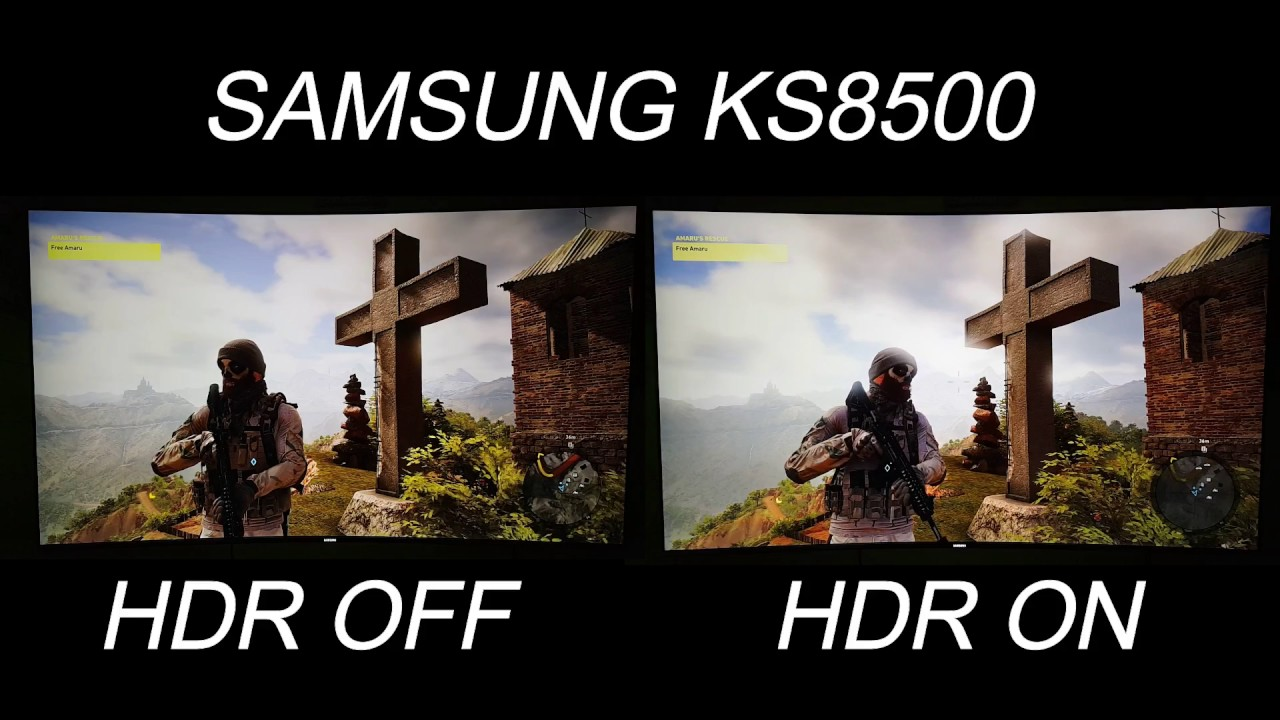 Pubg Hdr Vs No Hdr: How HDR Looks On Ghost Recon Wildlands Vs SDR On PS4 PRO