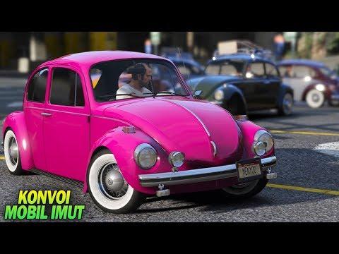 GTA 5 - Konvoi Mobil Imut VW Kodok Klasik (Volkswagen Beetle)
