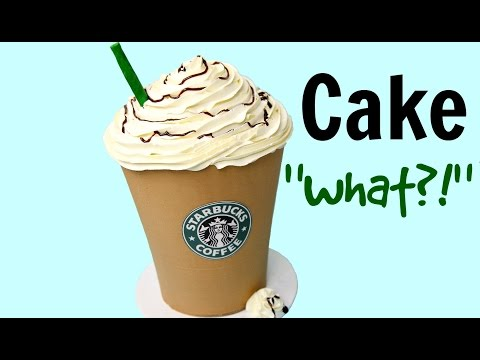 giant-starbucks-mocha-frappuccino-cake---cake-style