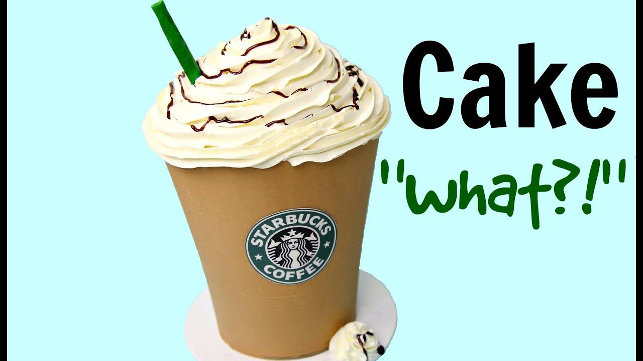 Giant Starbucks Mocha Frappuccino Cake CAKE STYLE YouTube