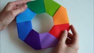 Modular Origami Star Tutorial (Salman Ebrahimi) - Paper Kawaii | 180x320