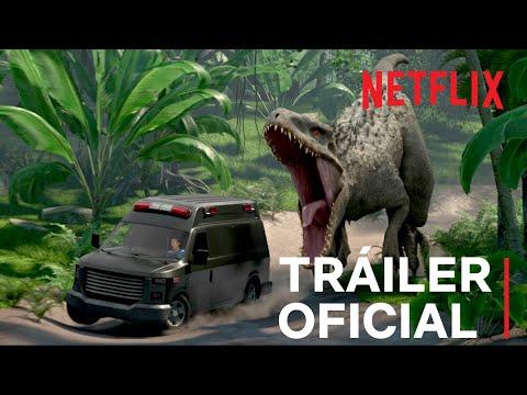 Jurassic World: Campamento Cretácico   Tráiler oficial   Netflix