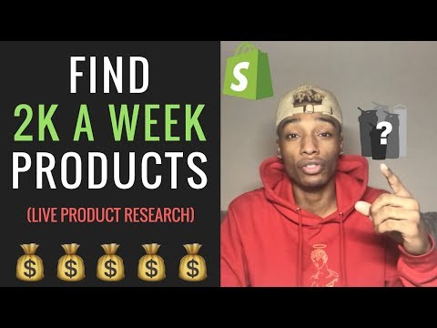 How To Find Hot Dropshipping Products | Shopify thumbnail