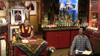 Awarenesses and Knowers with Geshe Ngawang Tenley - 2016-05-04