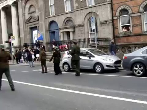 James Connelly Republican Flute Band @ Westland Row, 1916, Commenoration 24th April, 2016.