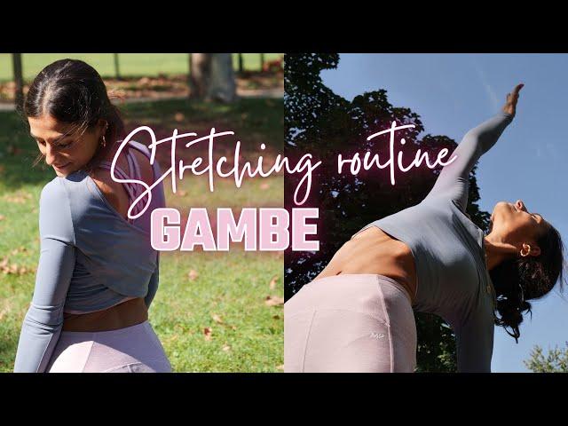 12 min STRETCHING GAMBE: routine guidata | Silvia Fascians