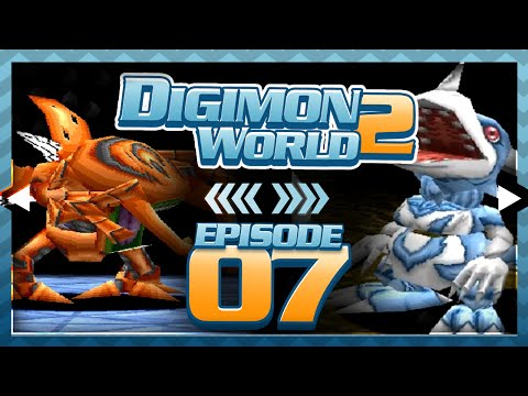 Digimon World 2 - Episode 7 : Web Domain & Kuwagamon Boss!!