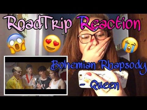 RoadTrip Reaction || Queen - Bohemian Rhapsody [Boyband RoadTrip]