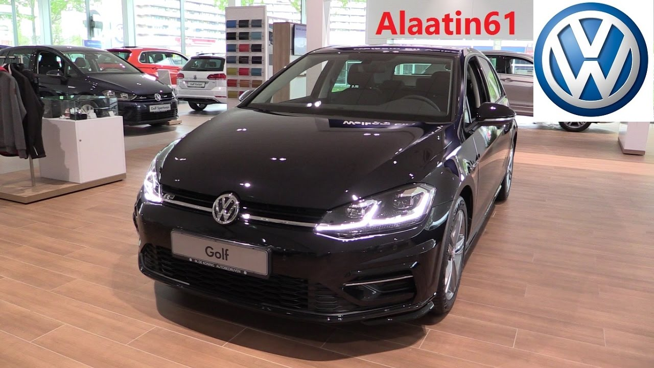 volkswagen golf r line 2018 new facelift in depth review. Black Bedroom Furniture Sets. Home Design Ideas
