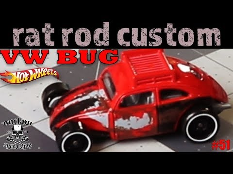 Hot Wheels Custom VW Bug Rat Rod