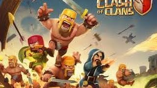Clash of Clans Atacando cv 8 com cv 8 ft.THE FOX