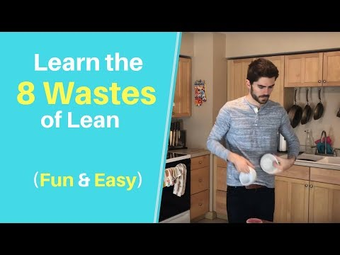 Fun Introduction To The 8 Wastes Of Lean Manufacturing