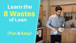 Funny Introduction To The 8 Wastes Of Lean Manufacturing
