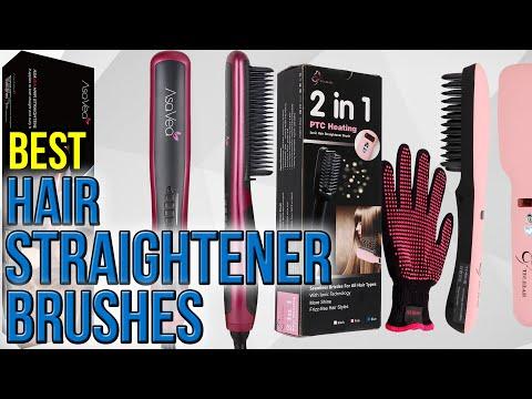 10 Best Hair Straightener Brushes 2017