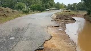 Ponte di Uta a rischio crollo