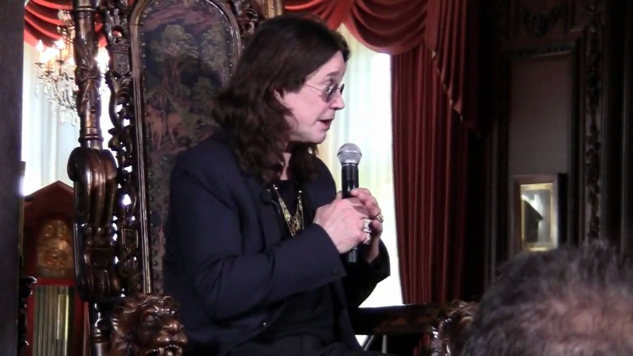 Ozzy Osbourne Meet Greet Youtube