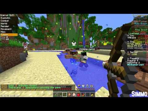Minecraft: MCSG Hacking w/ Icarus b3 | 1440p 60fps
