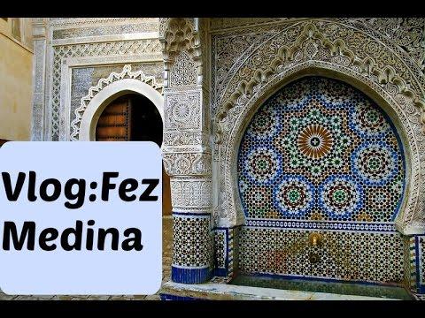 Vlog:day in Old Medina Fez