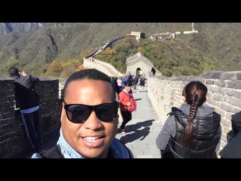 Joivan at The Great Wall of China