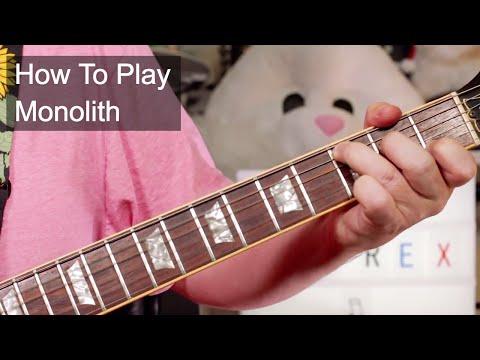 'Monolith' T. Rex Guitar Lesson