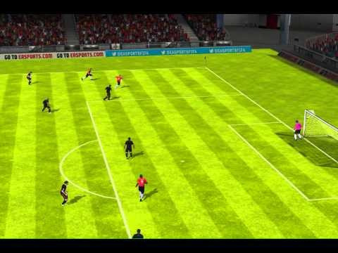 FIFA 13 iPhone/iPad - FC  ANGUILLA vs. Real Murcia CF