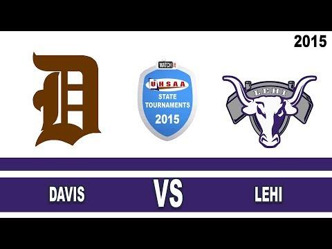 Volleyball Davis vs Lehi 2015 Utah State High School Tournament