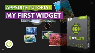 Tutorial - My First Widget | AppSuite Touch Screen CMS Software