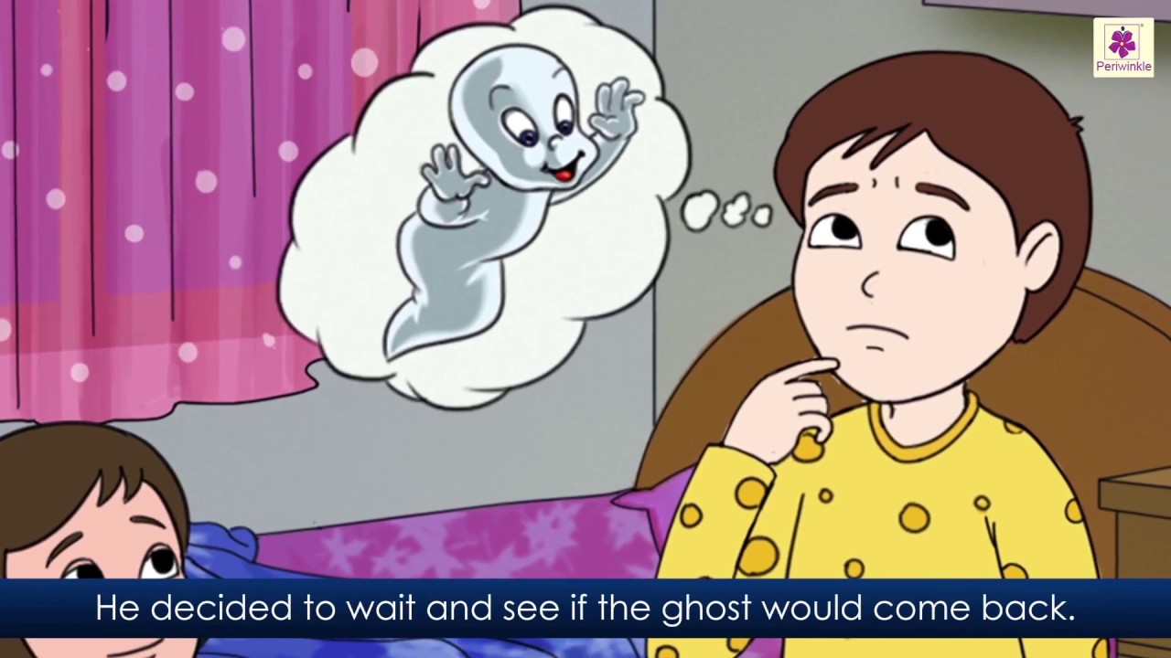 The Mystery Of The Whispering Ghost   English Story For Kids   Periwinkle