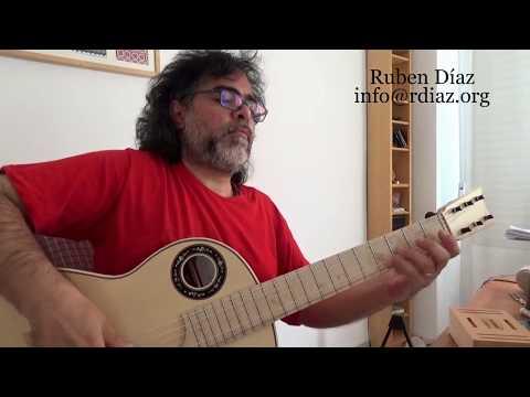 Ear training (1 Ionian major) in modern flamenco guitar / Learn Paco de Lucia´s Style/ Ruben Diaz