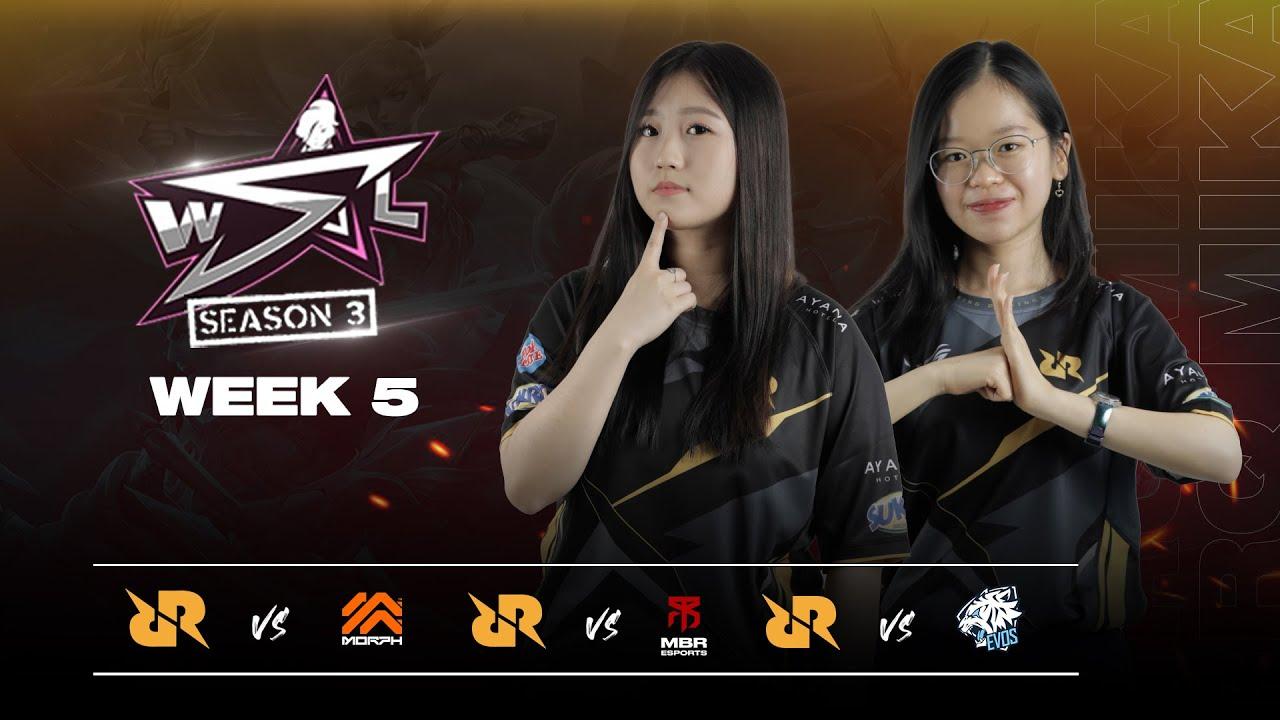 HIGHLIGHT RRQ MIKA WSL S3 WEEK 5