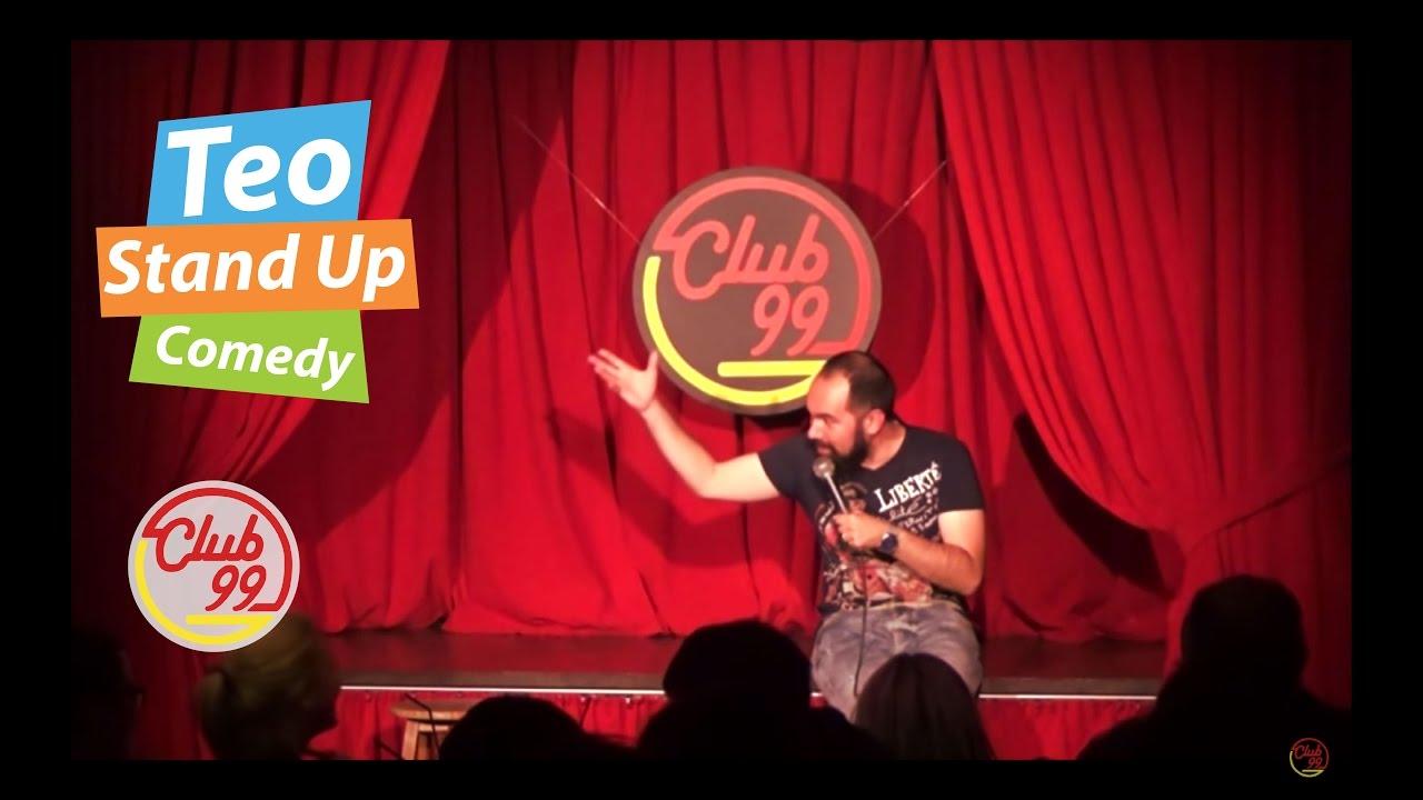 Teo - Baclavaua (Crowd work)   Club 99   Stand-up Comedy