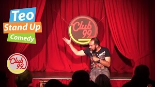 Teo - Baclavaua (Crowd work) | Club 99 | Stand-up Comedy