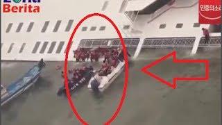 Ini dia Video amatir Detik Detik Tenggelamnya Kapal Ferry Korea Selatan