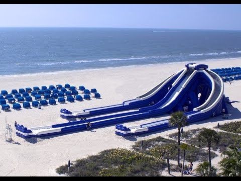 TradeWinds Island Resort High Tide Slide St. Pete Beach, FL GOPRO