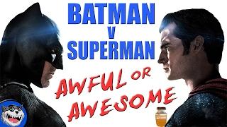 Batman V Superman: Dawn of Justice - Mega Review