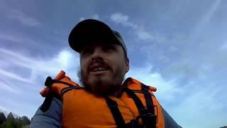 ПОЙМАЛИ КРАКИНА Рыбалка Поиск щуки покатушки на лодке пвх кайман 330 мотор Sea pro 9 9 oth