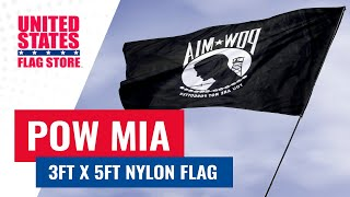 3x5ft Nylon POW / MIA Flag