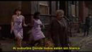 la tienda de los horrores: skid row (downtown) español 1986