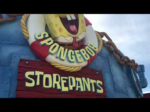"Tour The Store: ""Spongebob Storepants"""