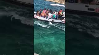 Trasbordo di turisti in difficoltà alle Isole Tremiti
