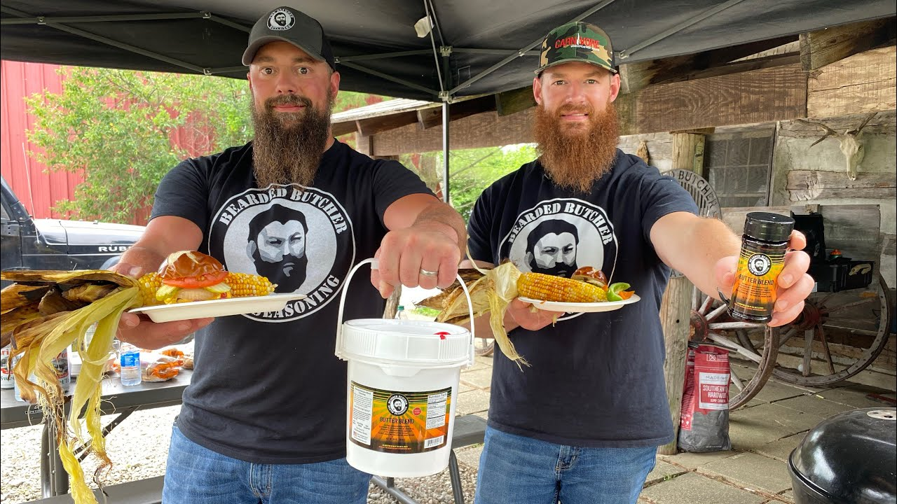 The Best Grilled Corn on the Cob (Butter Seasoning) on a $50 Budget   The Bearded Butchers